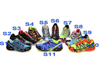Wholesale 14 Styles NEW Salomon Speedcross Running Shoes Men s France Walking Track Shoes Casual Sport M amp S Contagrip