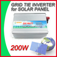 Wholesale Pro W V Solar Panel Grid Tie Power Inverter Generator High Quality