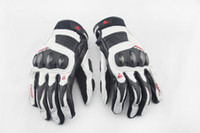 Cheap Leather gloves Best Black white M L XL se gloves