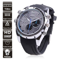 Wholesale Spy Watch Camera HWH Elegant GB Waterproof P Sport Watch DVR With Night Vision PC Camera Retail