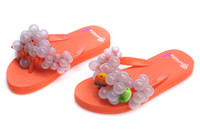 Wholesale 2014 Summer Hot Selling Fashion Shoe South Korea BUBBLEFLOP Shoes Slippers Women Grapes Shoes Slipper Girls Rubber Sneakers Sandal