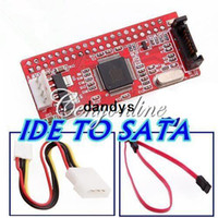 cd ide converter adapter - New IDE TO SATA HDD CD DVD Converter Adapter Cable Retail Package High Quality dandys