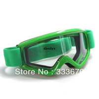 Wholesale Green Sport Snow Ski ATV Motocross Motorcycle Eyewear Lens Off road Quad Bike Bicycle Helmet Goggles Glasses dandys