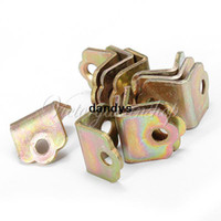 Wholesale 10pcs Metal Right Angle Reinforcement Corner Joint Brackets Furniture Accessories dandys
