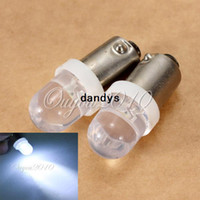 Light Sourcing bayonet lamp - 2pcs BA9S LED T4W Bayonet Car Side Wedge Parker Interior Light Lamp Bulb V dandys