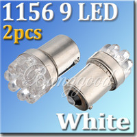 al por mayor la luz g18-2 1156 BA15S 382 G18 Blanco 9 LED traseras de Freno Señal de Giro a la Luz de la Bombilla de la Lámpara de 12V DC Envío Gratis Wholesal,dandys
