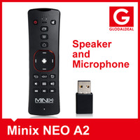 Wholesale Minix NEO A2 G Wireless Keyboard Air Fly Mouse Built in Speaker and Microphone for Minix NEO X7