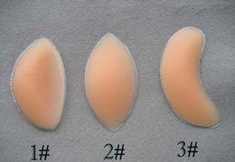 Wholesale EMS pairs Women s Silicone Gel Bra Inserts Pads Breast Enhancer Push Up Padded Bra Underwear Types