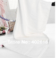 Wholesale Golf towel With Pocket design Size CM bamboo fiber bamboo towel White color Sports towels