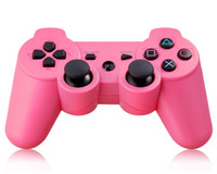 Wholesale 2 Wireless Bluetooth Controller Six Axis USB Rechargeable Mouse Game Joypad for Sony PS3