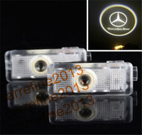 Wholesale LED Car door light for Benz CLS LED logo projector light logo ghost shadow light welcome light for Mercedes Benz CLS class