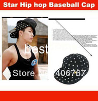 Ball Cap Red Cotton Wholesale Free Shipping American Flag Embroidered Hip-hop Hat Baseball Caps Snapback 200PCS lot