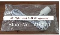 on and off - IQ lamp power cord with on off switch and E lampholder and feet long cable