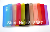 For Apple iPhone Metal Yes 0.3mm Super Ultra Thin Slim Matte Frosted Transparent Clear Soft PP Cover Case Skin for HTC One Max T6 Free Shipping 100pcs lot