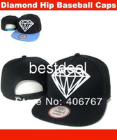 Ball Cap Red Cotton Wholesale Free Shipping Diamond 2014 New Arrival Diamond Caps Snapback Baseball Hip-hop Hats For Men 100PCS lot