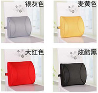 Wholesale 2014 Hot Memory Foam Lumbar Back Support Cushion Pillow for Office Home Car Seat Chair