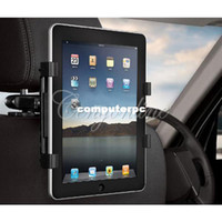 Wholesale Universal Car Back Seat Headrest Mount Holder Stand Bracket Kit quot quot for iPad Mini for SAMSUNG Galaxy Tab Tablet