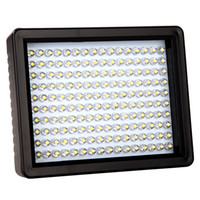 Wholesale W160 LED Video Light Lamp W LM K K Dimmable for Canon Nikon Pentax DSLR Camera D848