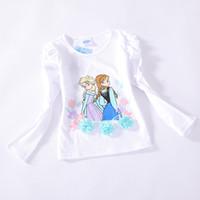 Cheap Girl children lovely t shirts Best Summer Standard cotton tops