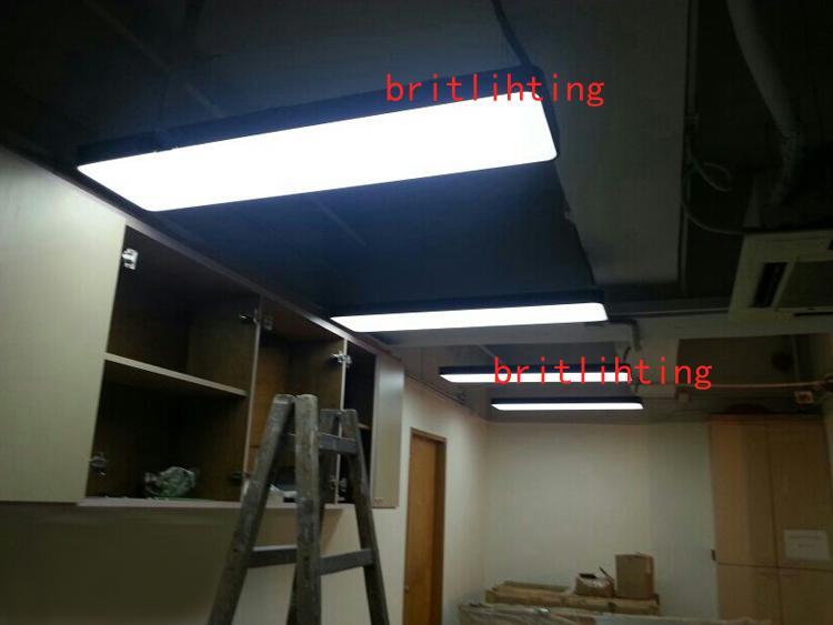 Contemporary Office Pendant Lights Book Shop Aluminium Pendant