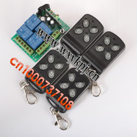 Wholesale DC12V way RF wireless remote control system transmitter and receiver a universal remote control wireless receiver