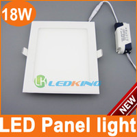 18W No LED Downlights 18W LED Non Dimmable Downlight 225x225mm White Shell LED Square Panel Lights Built in Down Light Great Ceiling light