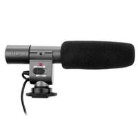 Precio de Handycam sony-SG-108 Stereo Shotgun Electret Micrófono de condensador de 3,5 mm Nikon Cañón Olympus Sony DSLR DV Handycam Camcorder D876