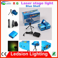 Wholesale High Quality Christmas Light New Mini blue led Laser stage light Star Club DJ Disco Bar House Dance Projector Stage Light