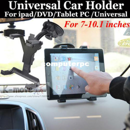 Free Shipping Car Mount Holder For ipad 1 2 3 4 5 mini 7-10.1 inch Universal Tablet PC Universal For Galaxy Tab GPS