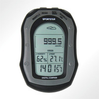 Wholesale Bardon handheld outdoor work station airgauge altmeter electronic compass chronograph