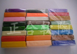 Wholesale New Arrive Colorful fimo Effect Polymer Clay Blocks Soft Moulding Craft Creative Fun