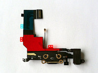 For Apple iPhone cable connector - Dock Connector Charging Port Flex Cable for iPhone S Black