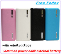 Banco de alimentación USB de bolsillo 5600mah emergencia Fuente de alimentación de batería externa portátil Cargador Universial LED Luz 5 colores