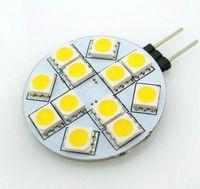 Wholesale G4 LED SMD Cabinet Car Home Light Bulb Cool White Warm White AC DC V W