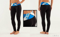 Wholesale yoga pants breathable Cropped LULU LEMON china post freeshipping