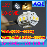 Wholesale G4 Home Reading LED Light White K Warm white K S MD SMD LED Light Warm White Cool White LED Bulb Lamp DC V