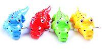 Wholesale Children Wind up Toys crocodile model children toy car Children toys spiral spring toys