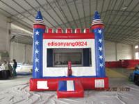Wholesale ED OEM manufactory amusement park inflatable bouncer inflatable bounce house