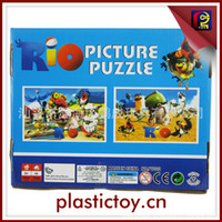 Wholesale new arrival RIO D picture puzzles set designs mix with nice box environmental protection