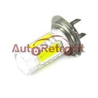 Wholesale Pair H7 W White High Power Car LED Fog Light Bulbs for V DC use Super Bright H7 LED Fog Lamp Bulbs