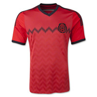 Wholesale 2014 Mexico World Cup Away Soccer Jerseys Top Thai Quality MÉXICO Team Soccer Jerseys Logo Emblem Embroidered Cheap Soccer Uniform Kits Sale