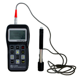 Wholesale Portable Digital Hardness Tester H Auto identification of impact device large LCD display with back light USB Output