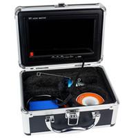 Wholesale quot LCD Fish Finder Underwater Video Camera With Light Fishing Breeding Monitoring Underwater Adventure TVL M M W1023