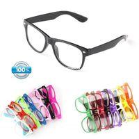 Wholesale Fashion Brand Designer Eyeglasses s Vintage Black Glasses Frame Women Clear Lens Eyewear