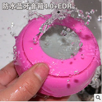 Wholesale Fashion Mini Waterproof Dustproof Speaker Wireless Bluetooth Handsfree MIC Shower Suction Cup Speakers for iPhone Tablet Galaxy Note Car