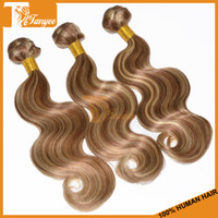 Peruvian Hair best pianos - Best Discount Peruvian Virgin Human Hair Extnsions Piano Color Body Wave Hair Weaving No Smell No Mix