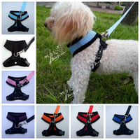 Wholesale Arractive luxury high end lovely and cool mesh cloth Pet harness Dog vest harness Dog clothing Puppy summer wear
