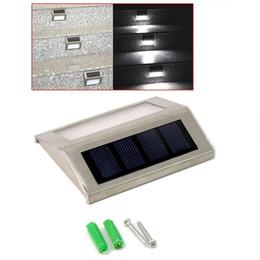 New Outdoor Solar Light Waterproof Led Solar Lamps Garden Lights Outdoor Landscape Lawn Lamp LED Solar Wall Lamps
