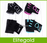 Wholesale New Cycling Fitness Sport Gloves GYM Half Finger Weightlifting Gloves Exercise Training Pair Good Quality
