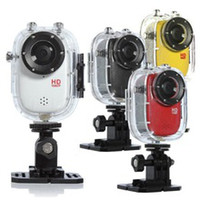 Wholesale Full HD P Sport Helmet Outdoor Camera SJ1000 Underwater m Mini DV Camcorder H p